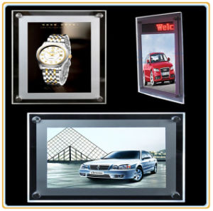 Best Quality Hot-Sale Custom Slim LED Crystal Light Box (A1) pictures & photos