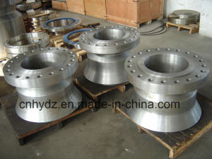 Wholesale Forging Parts with Holes Flange pictures & photos
