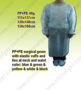 Hot Sell Nonwoven Disposable Surgical Gown pictures & photos