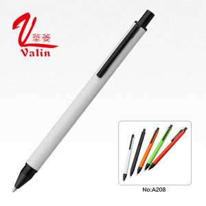 Metal Promotional Pen Clik Ballpoint Pen on Sell pictures & photos