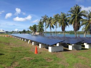 Solar Ground Mounting System-Concrete Block pictures & photos