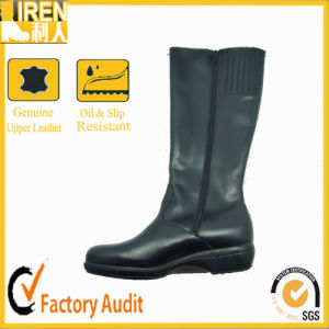 New Style with Side Zipper Horse Hunting Motorcycle Boot pictures & photos