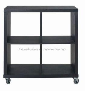 Wooden Modern Black Display Cabinet (2901702)