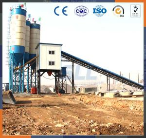 Hzs60 Dry Concrete Batching Plant with Horizontal Cement Mixer pictures & photos