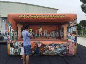 New Inflatable Shooting Gun Games/ Inflatable Air Shooter Gun pictures & photos