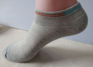 Ankle Siver Fiber Cotton Socks pictures & photos
