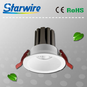 High Brightness and Anti-Glare LED Downlight with CREE Chip Ce/RoHS/SAA