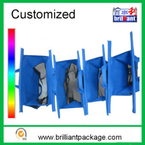Factory Non Woven Foldable Supermarket Trolley Shopping Cart Bag pictures & photos