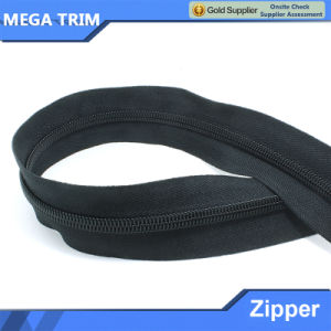 8# Double Deck Anti-Explosion Nylon Zipper pictures & photos