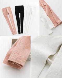 2015 Fashion and Sexy Autumn Leggings Slim Jacquard Elasticized Women Pants Pencil Pants pictures & photos
