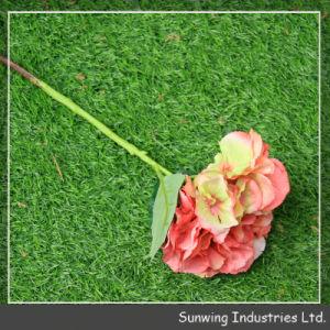 Cheap Artificial Hydrangea Flower Arrangements in Vases pictures & photos