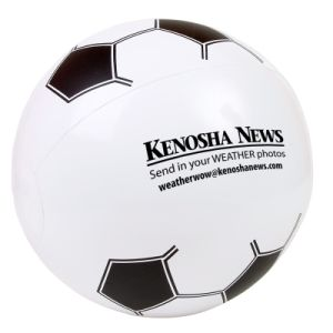 Inflatable Logo Printed Soccer Beach Ball (PM012) pictures & photos