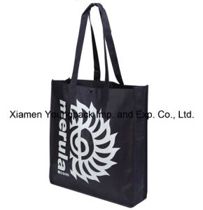 Black Non-Woven Fabric Eco Friendly Carry Bag for Promotional pictures & photos