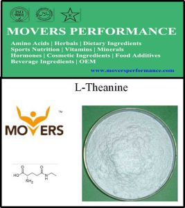 Factory Supply Amino Acids Food Grade L-Theanine pictures & photos