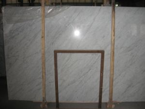 Carrera White Marble Slabs for Flooing Tile / Countertop pictures & photos