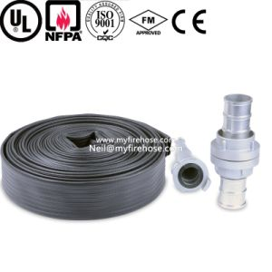 3 Inch PVC High Temperature Resistant Durable Fire Hose pictures & photos