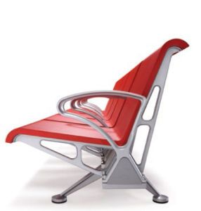 Polyurethane PU Waiting Chair, Steel Wait Chairs H68-3 pictures & photos