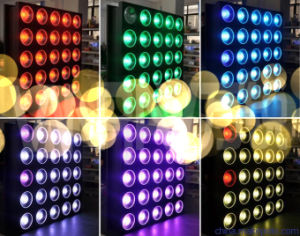 5*5 25heads RGBW LED Matrix Beam Wash Blinder pictures & photos
