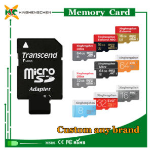 Custom Logo Micro SD Card 2GB to 128GB SD Memory Card Wholesale pictures & photos