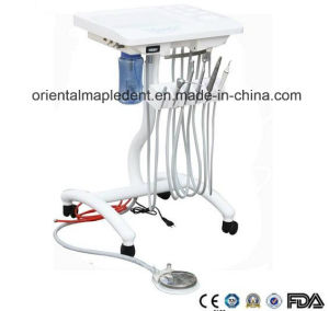 CE Approved Moving Type Portable Dental Unit (OM-PD013) pictures & photos
