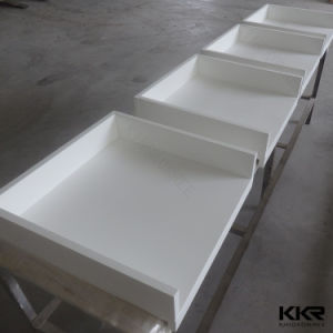 Kkr Solid Surface Bathroom Vanity Top for Hotel Project (C1706052) pictures & photos