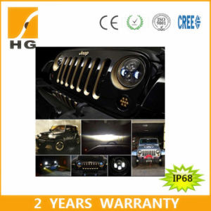 Emark DOT 7′′ 12V LED Headlight for Jeep/Landover Headlight pictures & photos