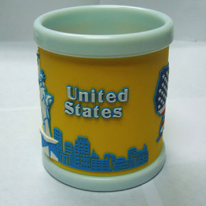United States Soft PVC Mug Cups pictures & photos