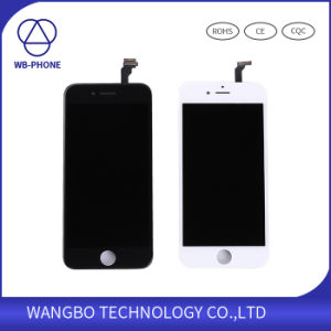 2016 New LCD Display Touch Screen Digitizer Assembly with Stable Frame Repair Parts for iPhone 6 pictures & photos