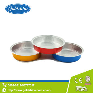 Food Grade Aluminum Silver Foil Containers pictures & photos