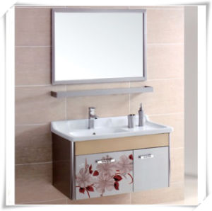 Elegant Style Hanging Wall Mirror S. S Bathroom Cabinet pictures & photos