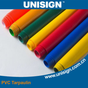 High Breaking Strength PVC Truck Tarpaulin pictures & photos