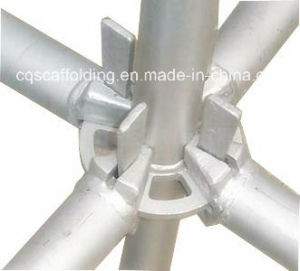 Hot DIP Galvanized Ringlock Scaffold System for Construction Project (CQG-RLV)