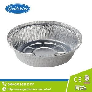 Food Packing Round Aluminum Disposable Pans pictures & photos