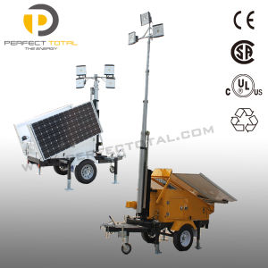 400W Mobile Solar Lighting Tower pictures & photos