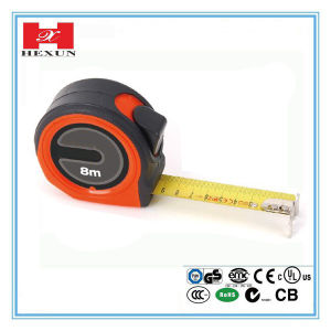 High Quality Rubber-Covered Self-Lock Measuring Tape China Supplier