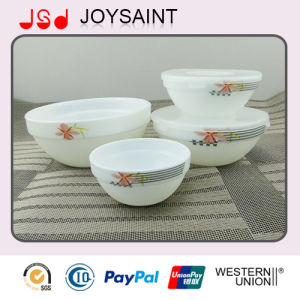 Opal Glass Stackable Bowl Set
