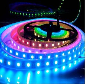 IP68 60SMD5050 14.4W/M RGB LED Strip pictures & photos