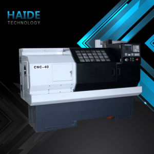 China Suppliers CNC Flat Bed Lathe (CNC400) pictures & photos