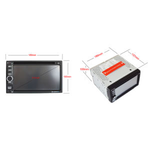 6.5inch Double DIN Car DVD Player with Android System Ts-2501-1 pictures & photos