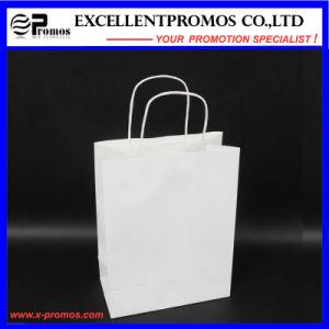 Customized Logo White Kraft Shopping Bag (EP-B581705) pictures & photos