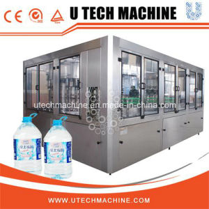 Rotary 5L Full Automatic Pure Water Botting Filling Machine (XGF Series) pictures & photos