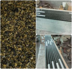 Ubatuba Green Granite Laminate Kitchen Countertop pictures & photos