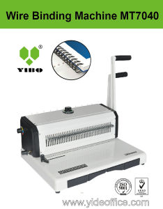 F4 Size P3: 1 Manual Wire Binding Machine (Mt7040) pictures & photos