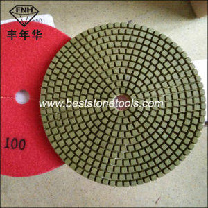 Dd-9-150 Diamond Concrete Dry Polishing Pad Polishing Tool 6 Inch