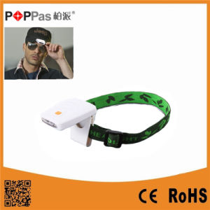 3LED Brighter Plastic Induction LED IP Sensor Headlamp (POPPAS-T101) pictures & photos