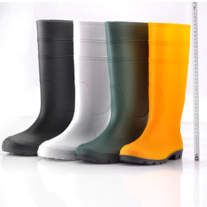 PVC Safety Boots for Rain (JK46501) pictures & photos