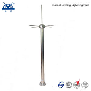 Stainless Steel Air Terminal Current Limiting Lightning Rod for Buildings pictures & photos