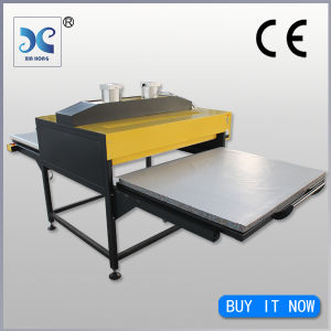 100*120cm Dual Station Pneumatic Large Format Fabric Printing Machine pictures & photos