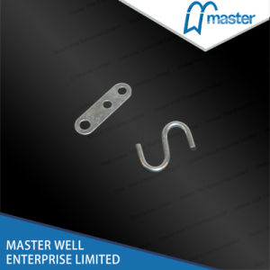 1.5mm Steel S-Hook with Split/Forged Standard Zinc Plated Steel S Hook pictures & photos