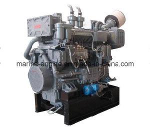 450kw/1500rpm Hechai Chd604cl6 Diesel Marine Engine pictures & photos